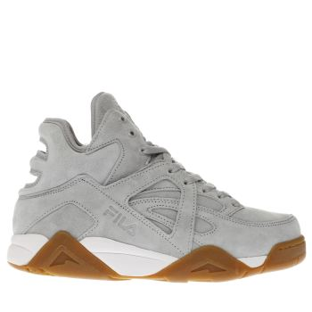Fila Grey Cage Mid Womens Trainers