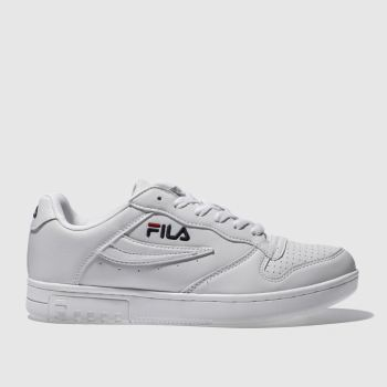 Fila White Fx100 Low Womens Trainers