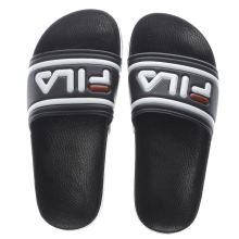 Fila Black & White Morro Bay Slipper Womens Sandals