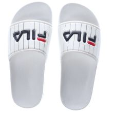 Fila White & Black Baywood Slipper Womens Sandals