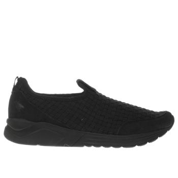 Fly London Black Sati Trainers