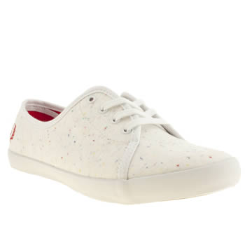 womens fred perry stone bell trainers