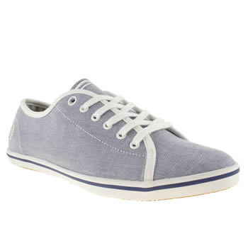 womens fred perry pale blue phoenix vi trainers