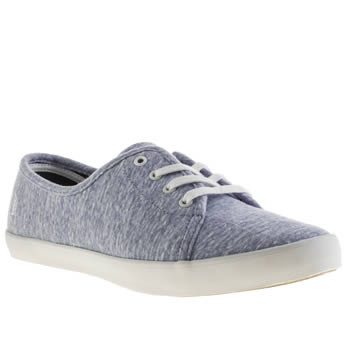 Fred Perry Pale Blue Bell Trainers