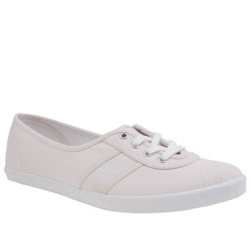 Fred Perry Pale Pink Aubrey Womens Trainers