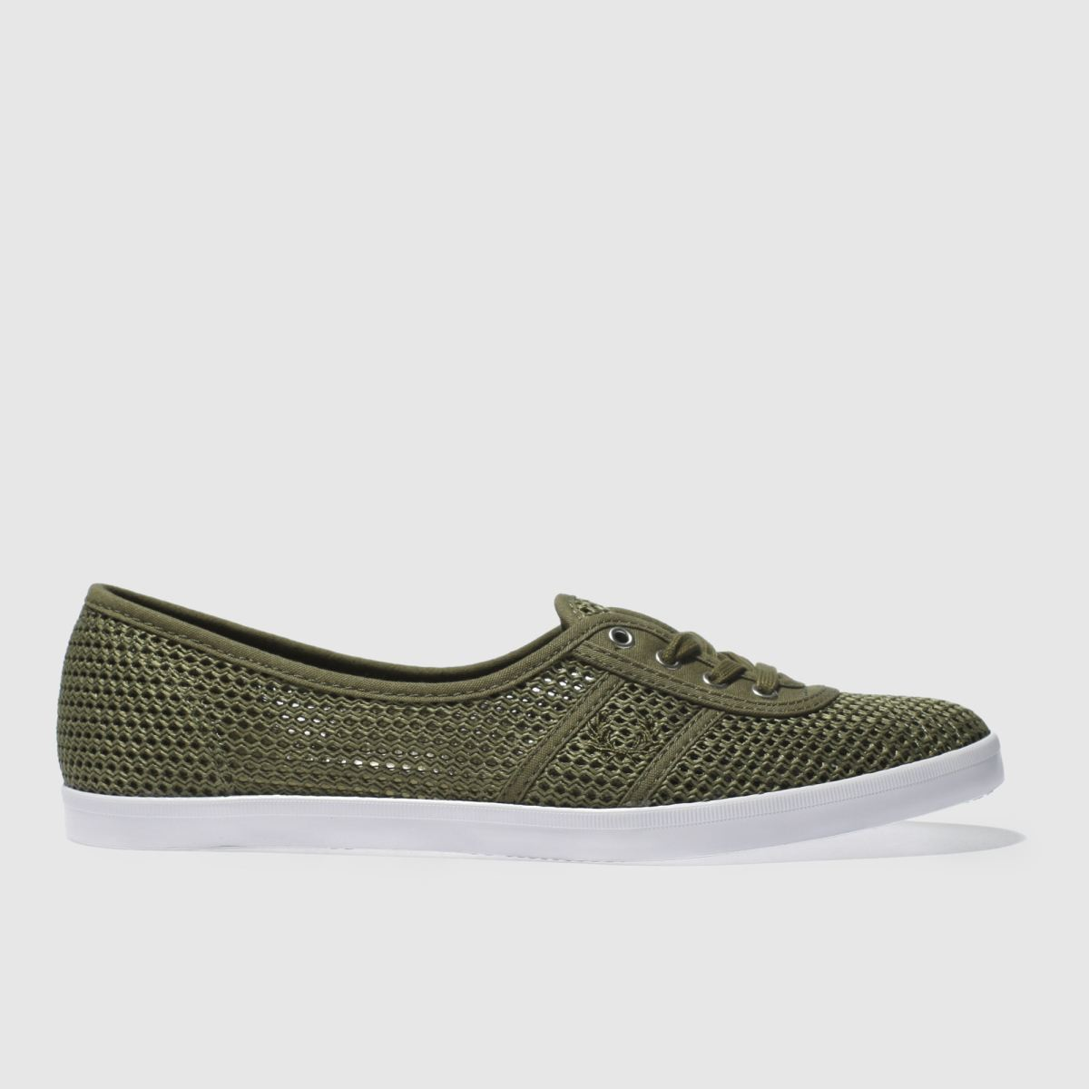 Fred Perry Fred Perry Khaki Aubrey Trainers