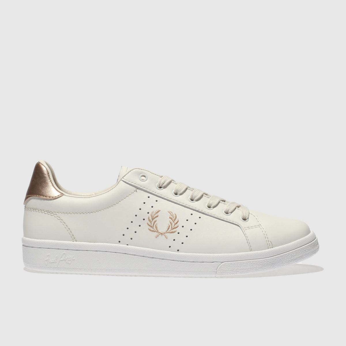 Fred Perry Fred Perry Stone B721 Leather Trainers