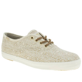 Keds Stone Champion Aztec Metallic Trainers