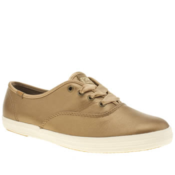 Keds Bronze Champion Lace Trainers