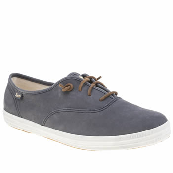 Keds Navy & White Champion Trainers