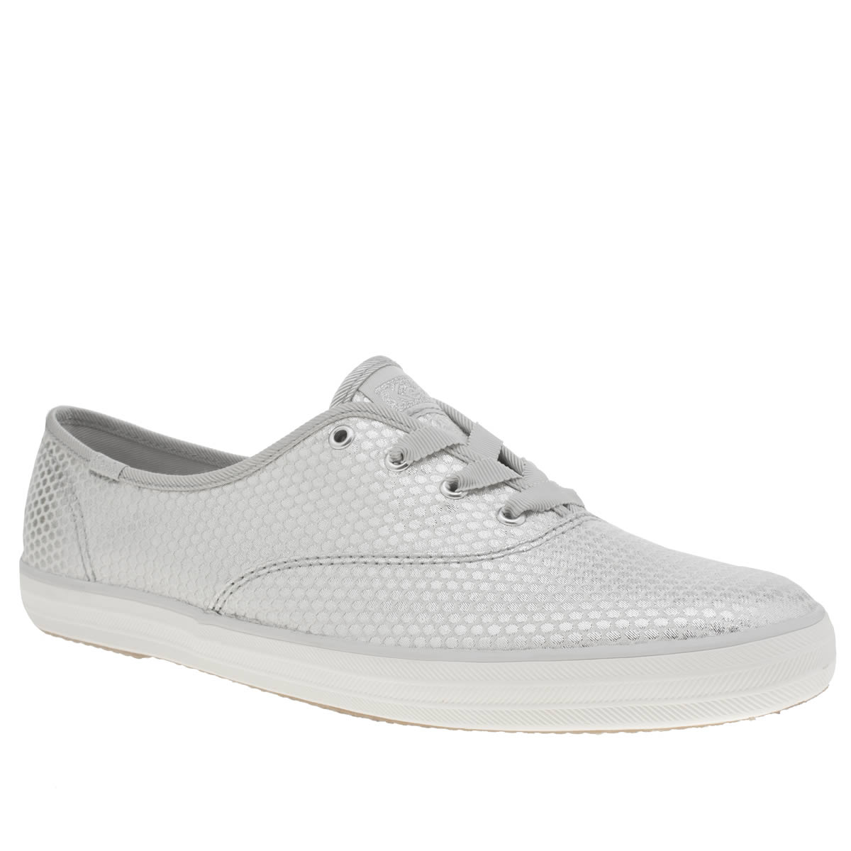 Keds Keds Silver Champion Shimmer Dot Trainers