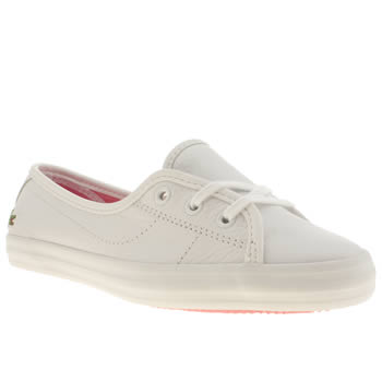 Lacoste White Ziane Chunky Trainers