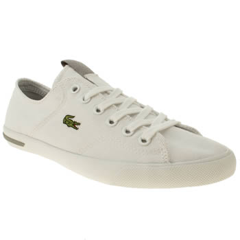 womens lacoste white ramer trainers