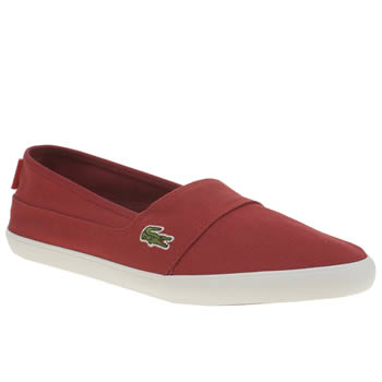 Lacoste Red Marice Trainers