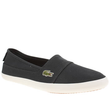 Womens Lacoste Navy Marice Trainers