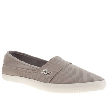 Womens Lacoste Grey Marice Trainers