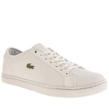 Womens Lacoste White Showcourt Trainers