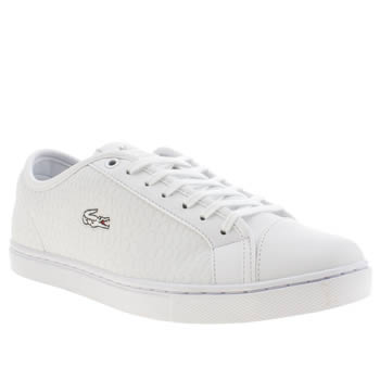 Lacoste White Showcourt Trainers