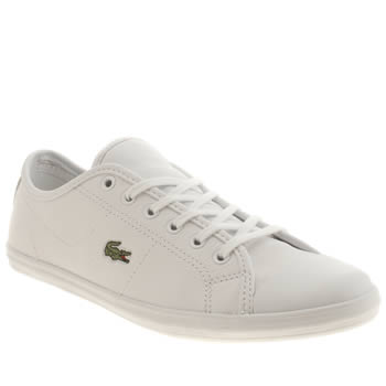 Womens Lacoste White Ziane Sneaker Trainers