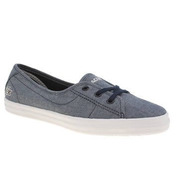 Lacoste Navy Ziane Chunky Trainers