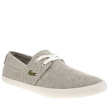 Womens Lacoste Grey Marice Lace Trainers