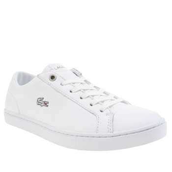 Womens Lacoste White Showcourt Rqt Trainers