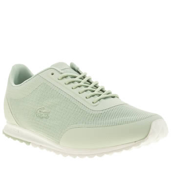 Lacoste Light Green Helaine Runner Trainers