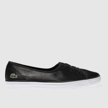 Lacoste Black Ziane Chunky Womens Trainers