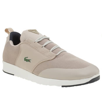 Lacoste Pale Pink Light Trainers
