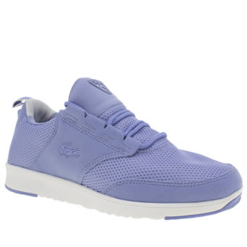 Lacoste Pale Blue Light Trainers