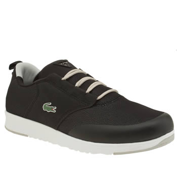 Lacoste Black & White Light Trainers