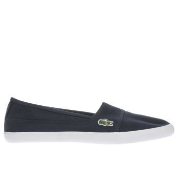 Lacoste Navy & White Marice Womens Trainers