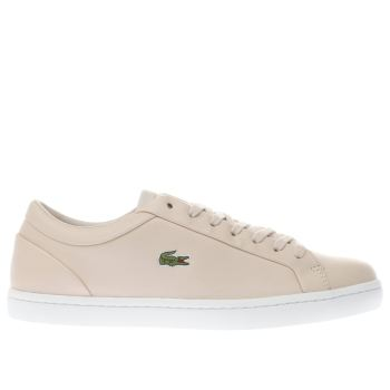 Lacoste Natural Straightset Womens Trainers