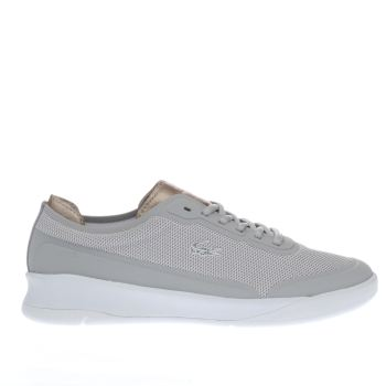 Lacoste Light Grey Lt Spirit Elite Womens Trainers