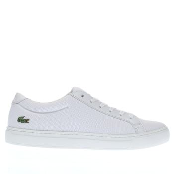 Lacoste White L-12-12 Womens Trainers