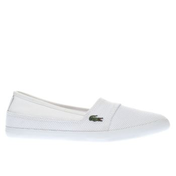 Lacoste White Marice Trainers