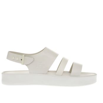 Lacoste White Pirle Sandal Womens Sandals