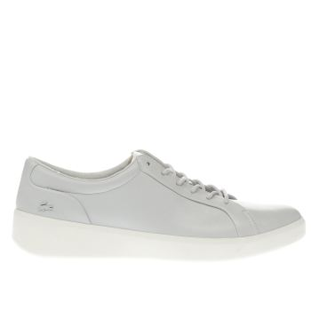 Lacoste Grey Rochelle Lace Womens Trainers