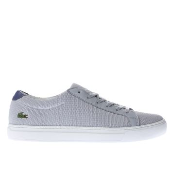 LACOSTE GREY L.12.12 TRAINERS