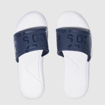 Lacoste Navy L.30 Slide Womens Sandals