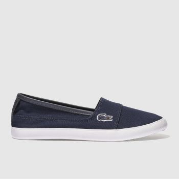 Lacoste Navy Marice Metallic Piqué Womens Trainers