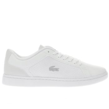 Lacoste White ENDLINER Trainers