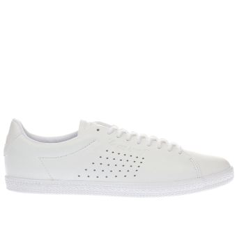 Le Coq Sportif White Charline Womens Trainers