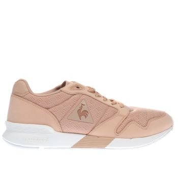 Le Coq Sportif Pink Omega X Reflective Womens Trainers