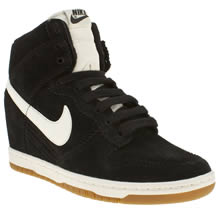 Black & White Nike Dunk Sky Hi