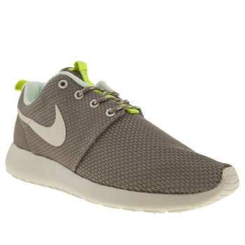 womens nike dark grey roshe run trainers