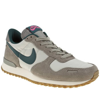 womens nike grey & navy vortex trainers