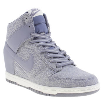 Womens Nike Lilac Dunk Sky High Ii Trainers