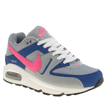 Womens Nike Grey Air Max Command Trainers