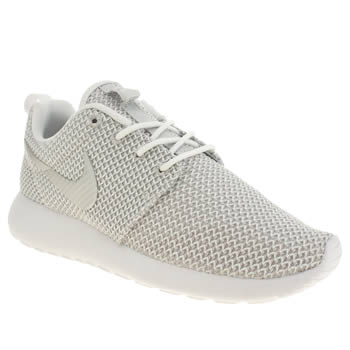 Womens Nike White Roshe Run Trainers